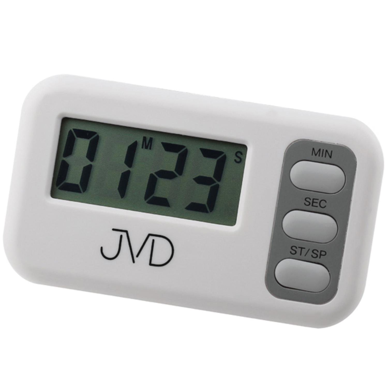 JVD DM62 Kurzzeitmesser digital weiß mit Magnet Kurzzeitwecker ...